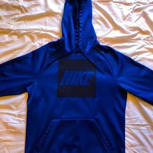 Blue Dri-Fit Nike Hoodie